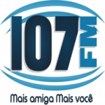 Logo da emissora Rádio Agreste FM 107