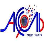 Logo da emissora Radio Assol FM 104.8