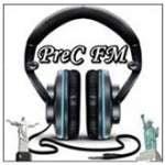 Logo da emissora Rádio PREC FM