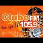 Logo da emissora Rádio Club 105.9 FM