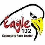 Logo da emissora Radio KXGE Eagle 102 102.3 FM