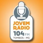 Logo da emissora Rádio Jovem 104 FM