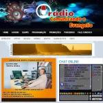 Logo da emissora Rádio RS Comunicando o Evagelho