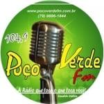 Logo da emissora Rádio Poço Verde 104.9 FM