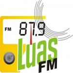 Logo da emissora Rádio Luas 87.9 FM
