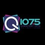 Logo da emissora Radio WDBQ Q 107.5 FM