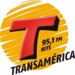 Logo da emissora Rádio Transamérica Hits 95.1 FM