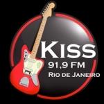 Logo da emissora Rádio Kiss 91.9 FM