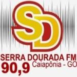 Logo da emissora Rádio Serra Dourada 90.9 FM