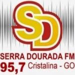 Logo da emissora Rádio Serra Dourada 95.7 FM
