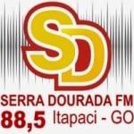 Logo da emissora Rádio Serra Dourada 88.5 FM