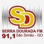 Logo da emissora Rádio Serra Dourada 91.1 FM