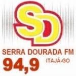 Logo da emissora Rádio Serra Dourada 94.9 FM