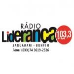 Logo da emissora Rádio Liderança 103.3 FM