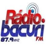 Logo da emissora Rádio Bacuri 87.9 FM