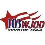 Logo da emissora Radio WJOD 103.3 FM