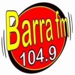 Logo da emissora Rádio Barra 104.9 FM