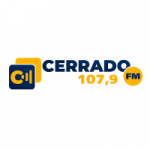 Logo da emissora Rádio Cerrado 107.9 FM