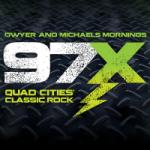 Logo da emissora Radio WXLP 97X 96.9 FM