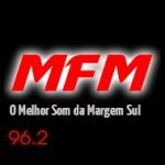 Logo da emissora Rádio MFM 96.2 FM