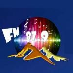 Logo da emissora Rádio Monte Carmelo FM 87.9
