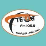 Logo da emissora Rádio Terra FM 105.9