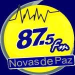 Logo da emissora Rádio Novas de Paz 87.9 FM