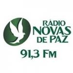 Logo da emissora Rádio Novas de Paz Continental 91.3 FM