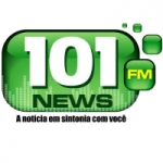 Logo da emissora Rádio 101 News FM