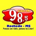 Logo da emissora Rádio Lider 98.5 FM