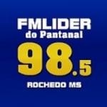 Logo da emissora Rádio FM Líder Do Pantanal 98.5