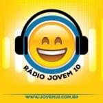 Logo da emissora Rádio Jovem 10