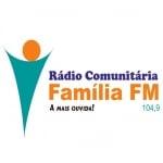 Logo da emissora Rádio Família 104.9 FM