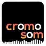 Logo da emissora Cromo Som