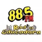 Logo da emissora Rádio Educadora Conceição do Jacuipe 88.5 FM