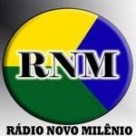 Logo da emissora Rádio Novo Milênio