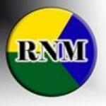 Logo da emissora Rádio Novo Milênio 97.1 FM