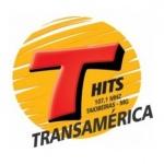Logo da emissora Rádio Transamérica Hits 107.1 FM
