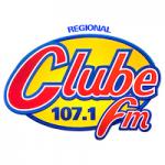 Logo da emissora Rádio Clube 107.1 FM