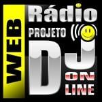 Logo da emissora Web Rádio Projeto DJ Online