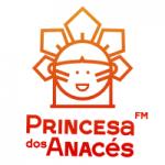 Logo da emissora Rádio Princesa dos Anacés 105.9 FM