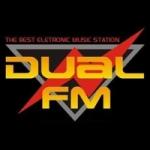 Logo da emissora Rádio Dual FM