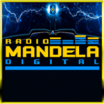 Logo da emissora Rádio Mandela Digital