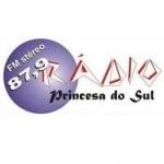 Logo da emissora Rádio Princesa do Sul 87.9 FM