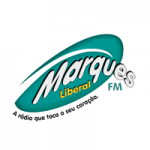 Logo da emissora Rádio Marques Liberal FM