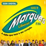 Logo da emissora Marques Liberal FM