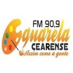 Logo da emissora Rádio Aquarela 90.9 FM