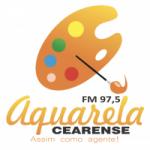 Logo da emissora Rádio Aquarela 97.5 FM