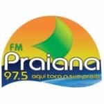Logo da emissora Rádio Praiana 97.5 FM