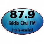 Logo da emissora Rádio Chuí 87.9 FM